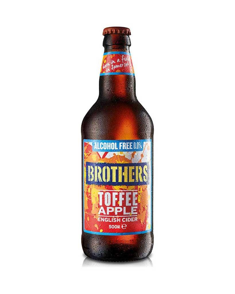 BROTHERS Alkoholiton toffee-omenasiideri