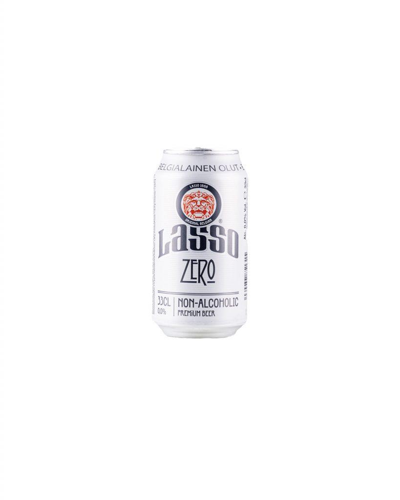Lasso Zero alkoholiton lager 0.0% 33cl